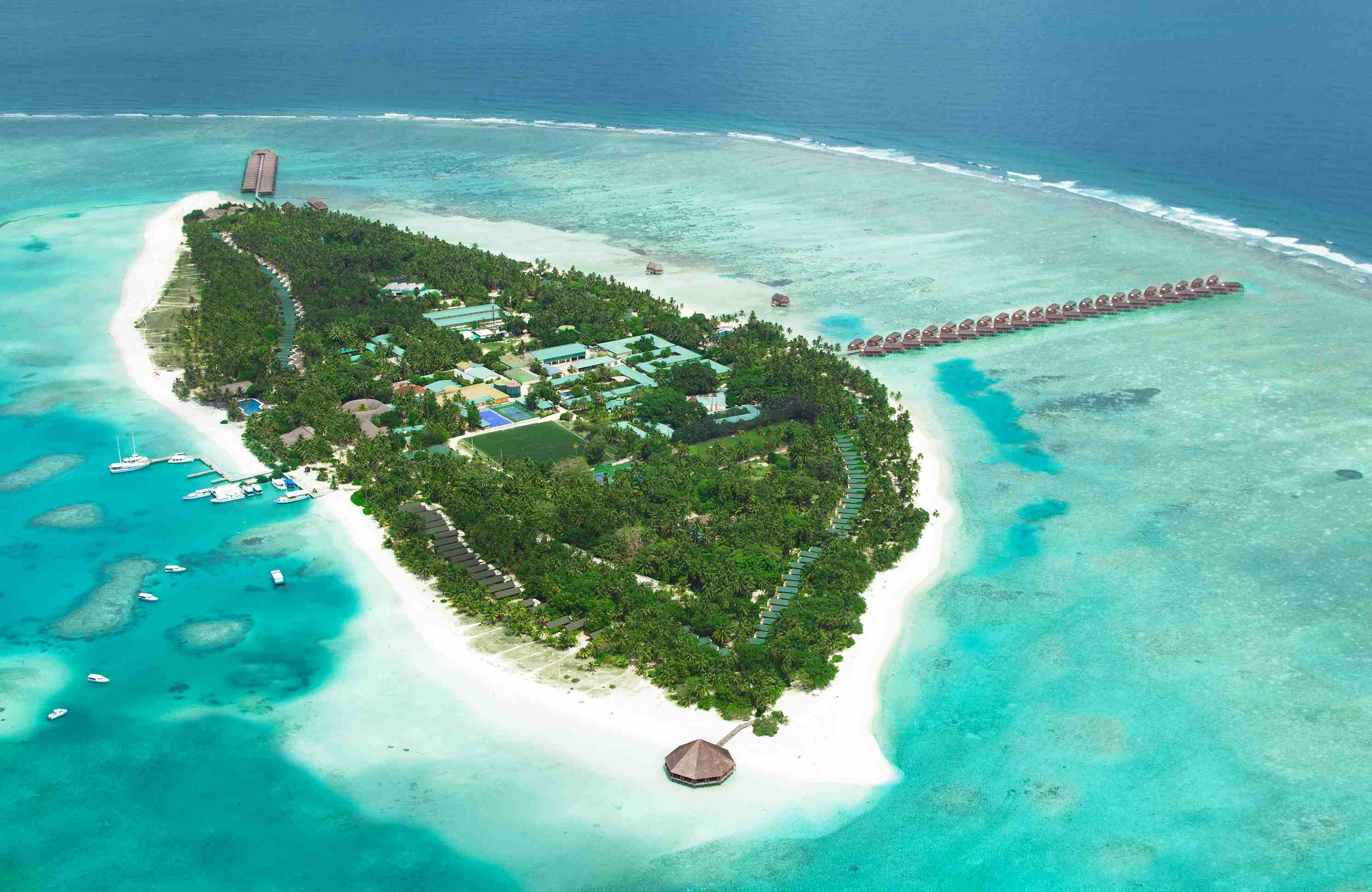 Review Meeru Island Resort & Spa, Maldives
